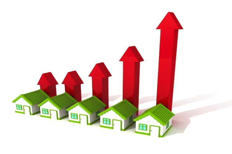 Immobilienindex Shutterstock Gro 185856560-Kopie in Immobilieninvestments: Kaufpreisfaktoren steigen 2020 dramatisch an