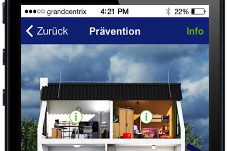 hausratversicherung axa startet neue service app. Black Bedroom Furniture Sets. Home Design Ideas