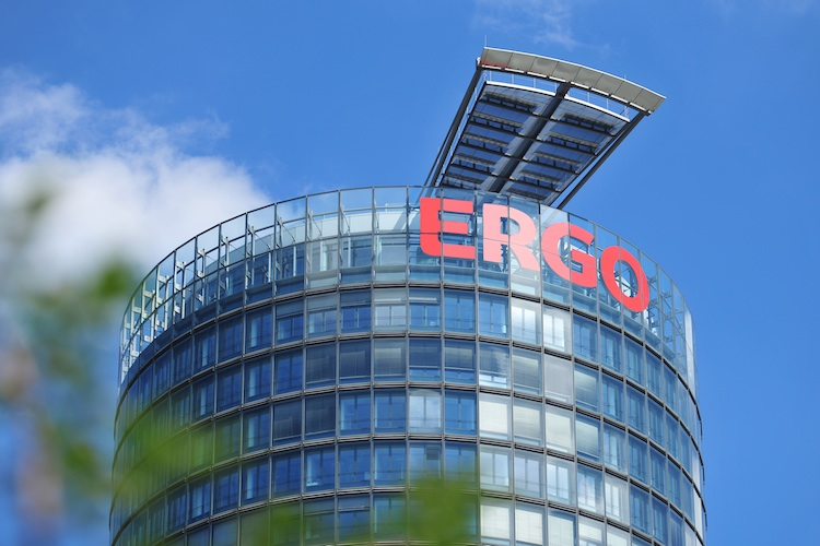 Sitz der Ergo Versicherungen in Düsseldorf