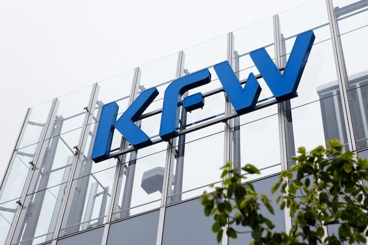 KfW in KfW: Fördervolumen sinkt im Jahresvergleich leicht