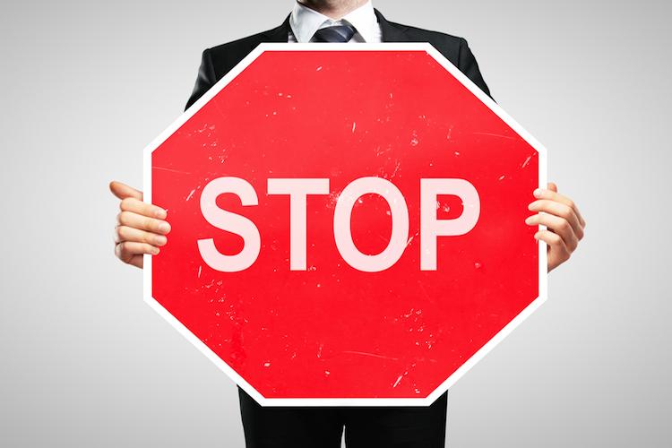 Stop - 750