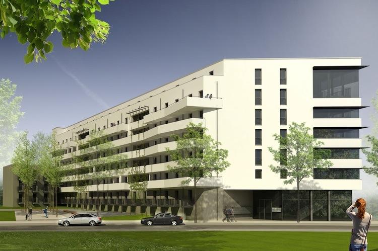 111013 Visualisierung-Westseite-FHS-u Berarbeitet in Hamburg Trust kauft Immobilie für neuen Fonds