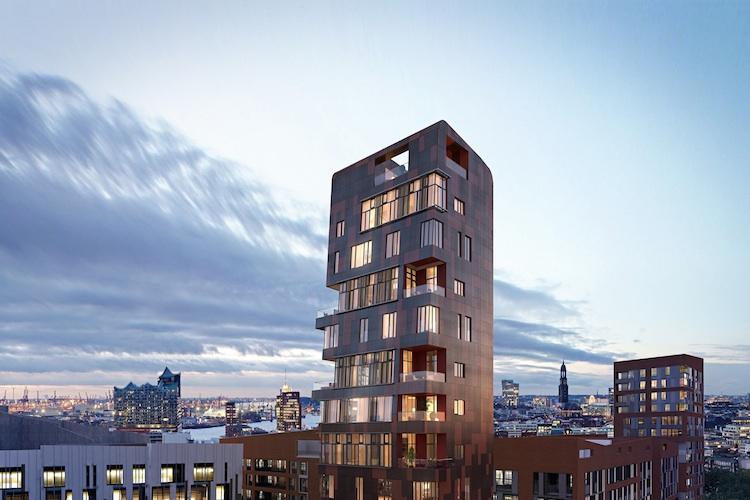 Cinnamon-Tower Hamburg in Hamburg: Vertrieb des Cinnamon Towers startet in die heiße Phase