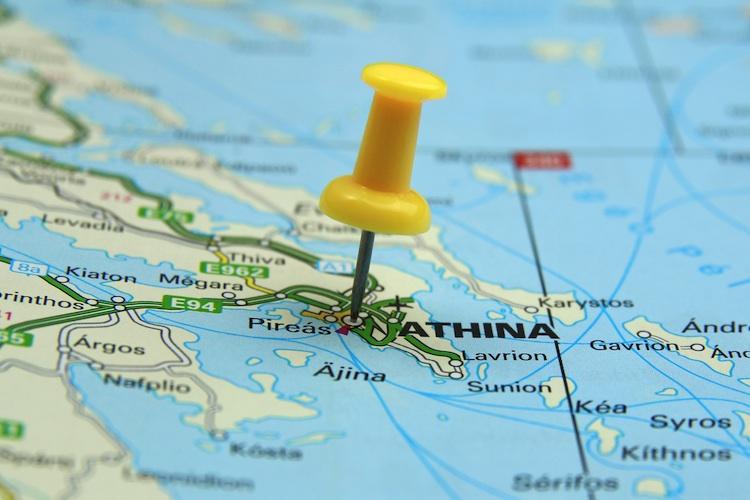 Greek-map in Frankfurt-Trust bringt Hellas-Fonds