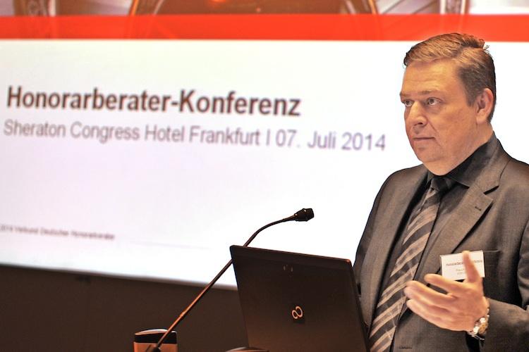 Zweite VDH-Honorarberater-Konferenz in Frankfurt