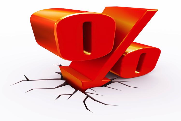 Zinsen-sinken-750-shutterstock 53504905 in Anleiherenditen sinken weiter