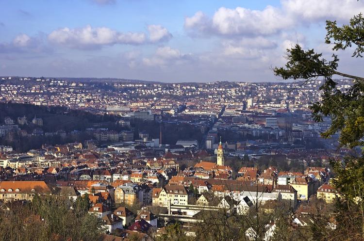 Stuttgart in DeAWM auf Einkaufstour