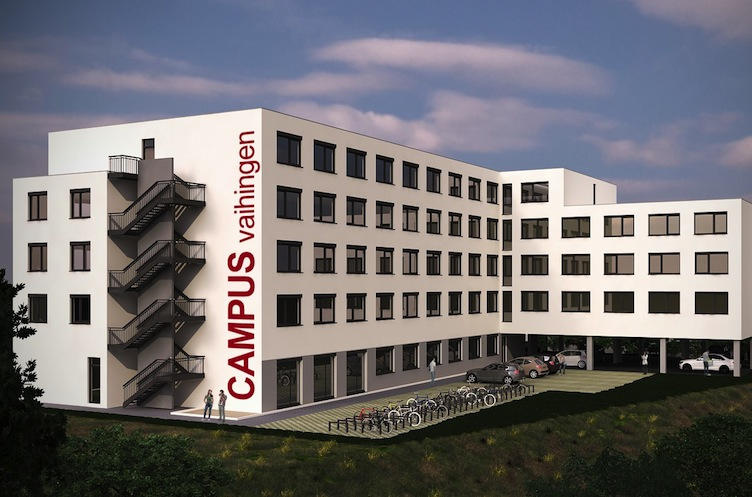 Kapitalpartner-Campus-Stuttgart-exemplarische-Visualisierung in Bauvorhaben Campus Stuttgart vor dem Start