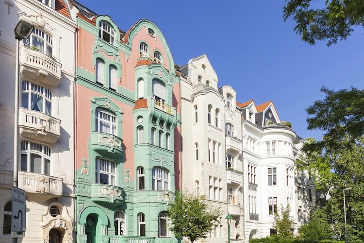 Altbau-Berlin-Kopie in Unsichtbaren Wohnraum nutzen