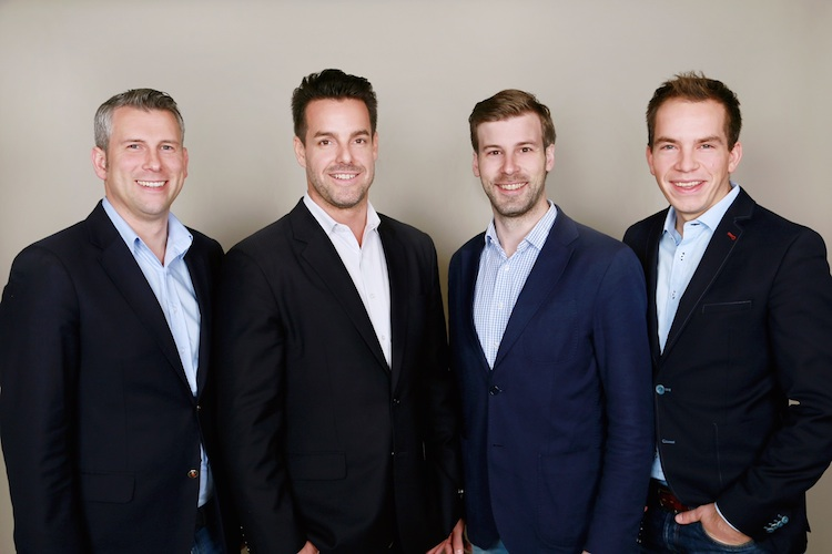 Exporo-Gruenderteam750 in Exporo will Anleger und Immobilienentwickler vernetzen