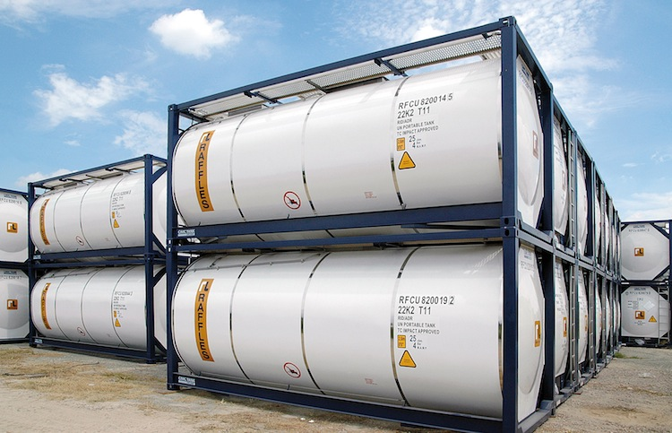 Buss-Tankcontainer in Buss Capital mit neuen Tankcontainer-Offerten