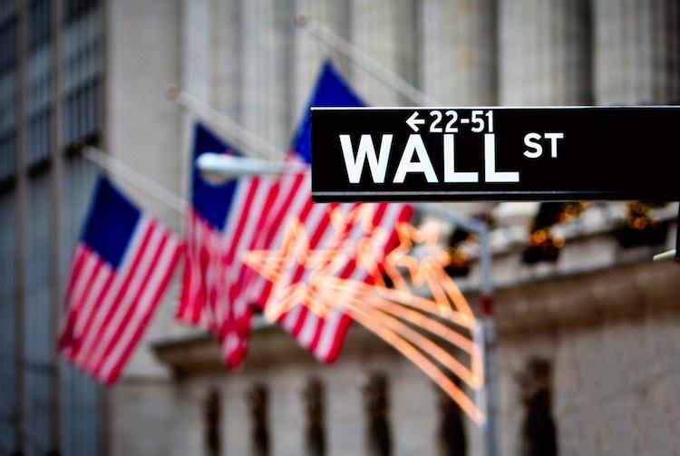 Wall-Street in Der Aktienmarkt gibt Auskunft über den möglichen Ausgang der US-Wahlen