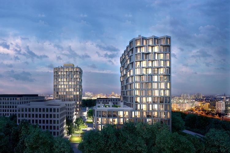 Wohntuerme-Friends in München erteilt Baugenehmigung für Wohntürme Friends