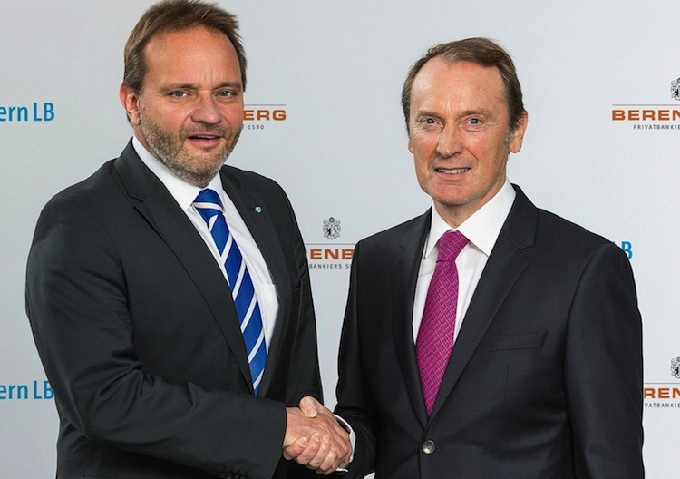 Riegler Peters750 in Bayern LB und Berenberg kooperieren