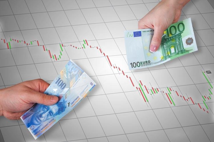 Euro-franken in Euro verliert, Franken ebenfalls unter Druck