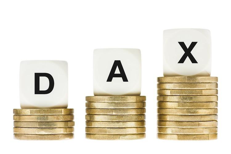 Dax-rekord in Deutscher Aktienmarkt erholt sich