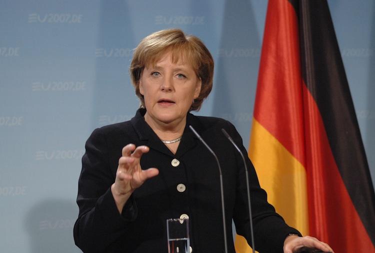 Merkel in Merkel: G7 einig über Ankurbelung der Konjunktur