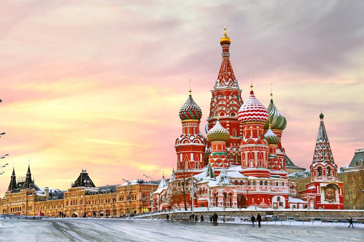 Russland-Moskau-750 in Zentral- und Osteuropa steht bereit zum Comeback
