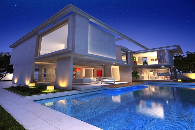 Villa Shutterstock 186476552-Kopie-2 in Unsicherheit drückt Mietpreise von Luxusimmobilien