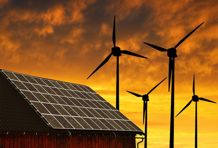 Shutterstock 227450902 in Institutionelle setzen weiter auf Renewables