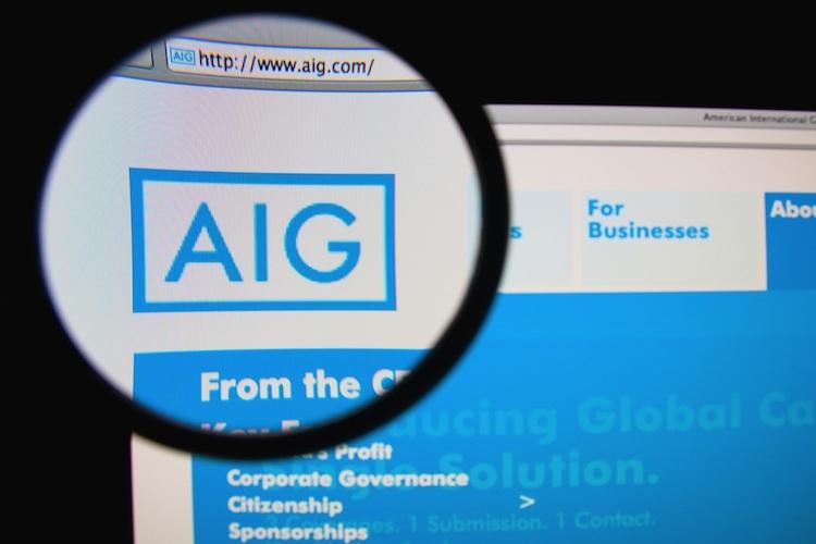 AIG rutscht in die roten Zahlen