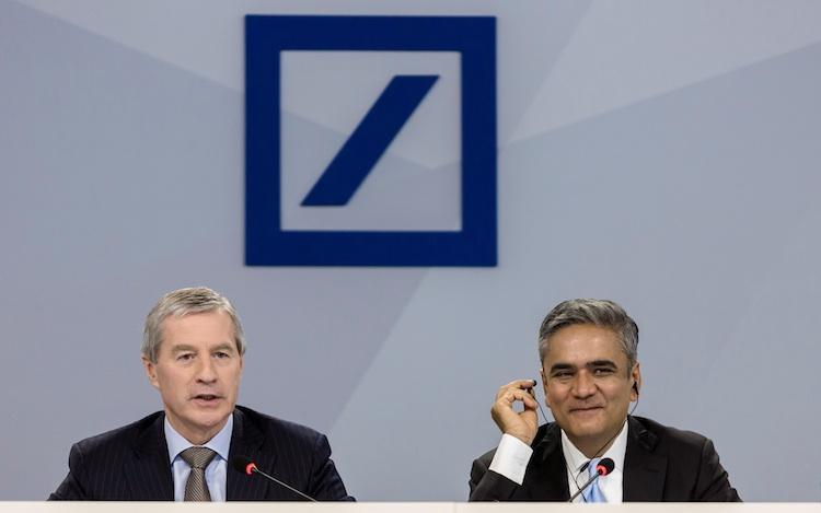 Fitschen-Jain in Deutsche Bank: Aktionäre strafen Vorstandsspitze ab
