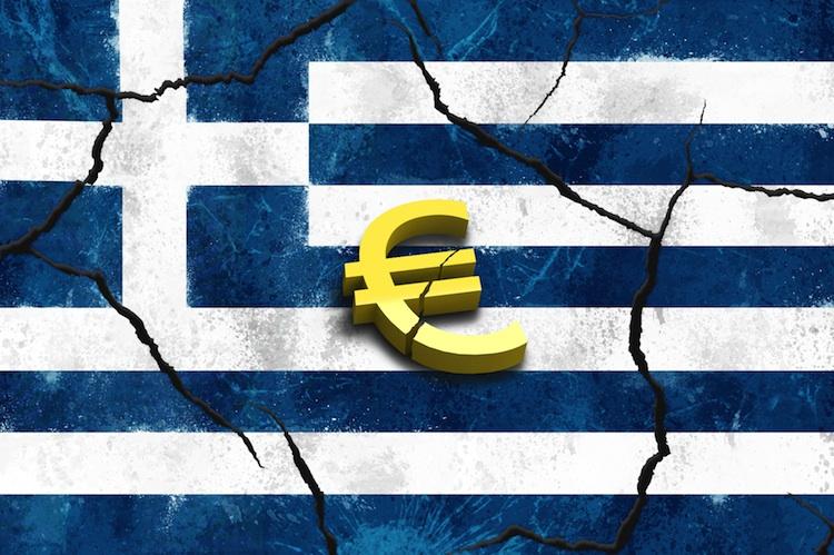 GriechenflaggeEuro in Letzter Akt im Griechenland-Drama