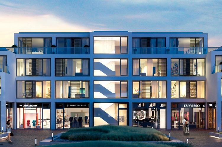 Neue Mitte Westerland in Neubau auf Sylt: Grundstein für Neue Mitte Westerland gelegt