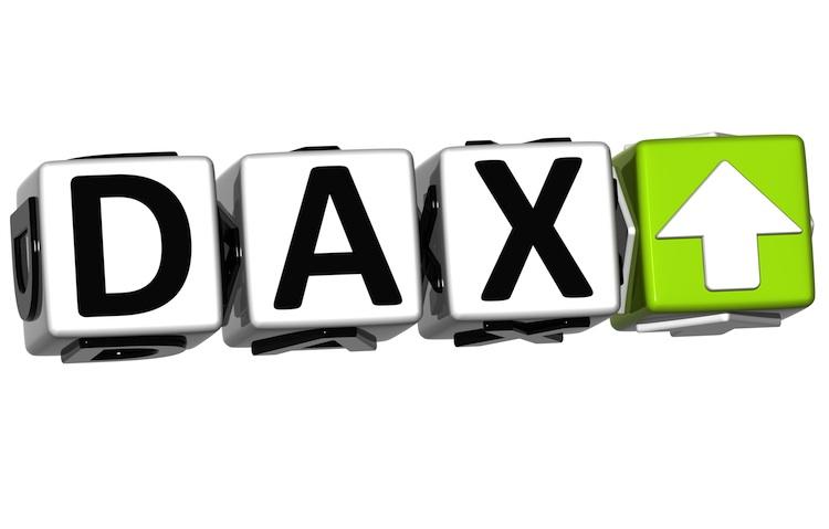 Dax in Steigende Aktienkurse reduzieren CO2-Emission