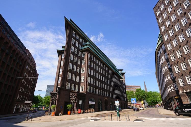 Chilehaus Hamburg Offener Immobilienfonds Uniimmo Deutschland-Kopie in Ein Fondsobjekt wird Weltkulturerbe
