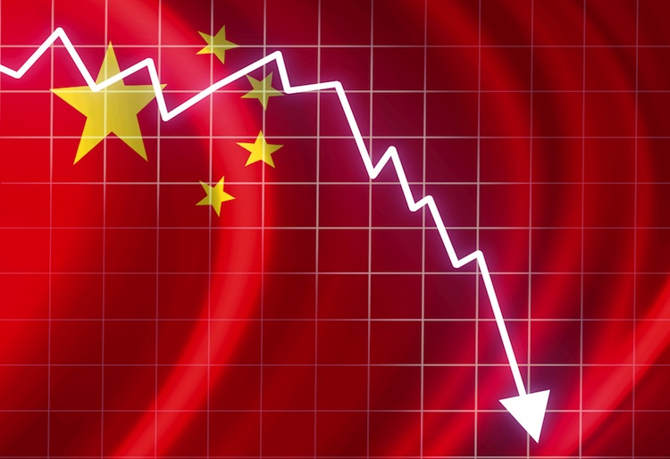 China-stock-dip in Chinas Märkte weiter auf Talfahrt
