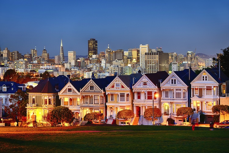 San Francisco Shutterstock 122041915-Kopie-2 in USA: Häuserpreise mit geringstem Anstieg seit November 2016