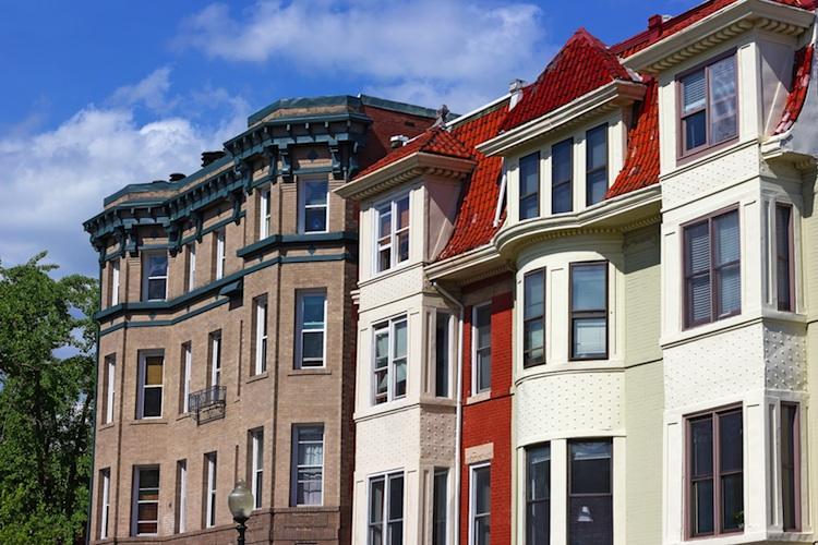 Vorort Wahsington Shutterstock 282484454-Kopie-2 in Schwebende Hausverkäufe in den USA überraschend gesunken