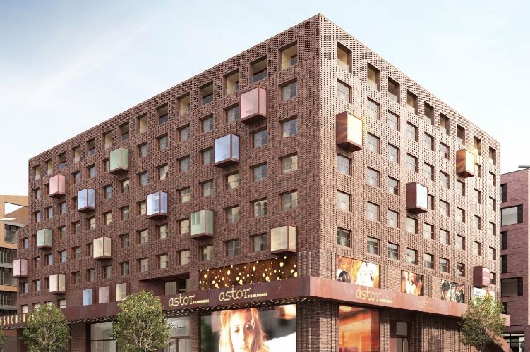 HC-34-Hamburg in Hamburg: Offizieller Baubeginn für Quartier HC 34