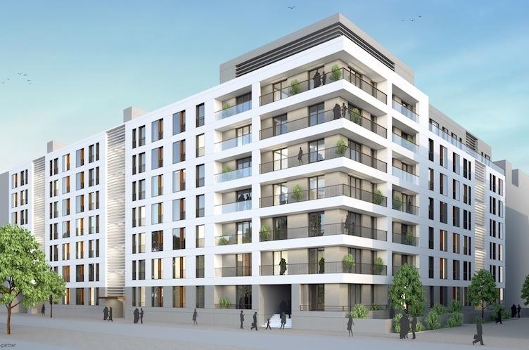 150609-Fassadenentwicklung-Nord in Wohnkompanie: Neue Wohnungen in Frankfurt/Main