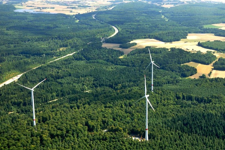 Anlagen-1-bis-3-des-Windparks-Ravenstein-von-Green-City-Energy-Foto-Mechtild-Buck in Green City Energy: Start für neuen Windpark