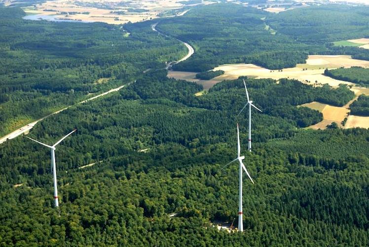 Anlagen-1-bis-3-des-Windparks-Ravenstein-von-Green-City-Energy-Foto-Mechtild-Buck in Augen auf bei grünen Anleihen!