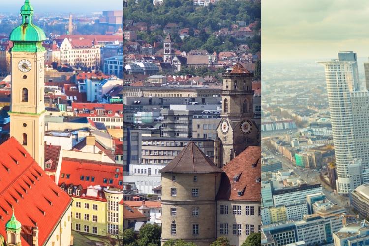 Sieger-Sta Dteranking 2015 Mu Nchen Stuttgart Frankfurt in Im Fokus: Die Top-3-Standorte des Cash.-Städterankings 2015