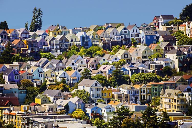 Haeuser-San-Francisco Shutterstock 284743550-Kopie in USA: FHFA-Hauspreisindex steigt schwächer als erwartet
