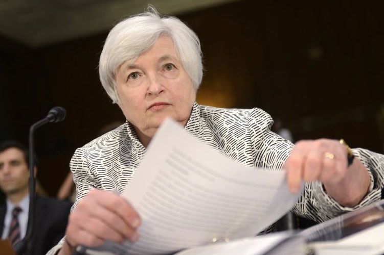 Janet-Yellen Federal-Reserve in Source sieht Fed in der Zwickmühle