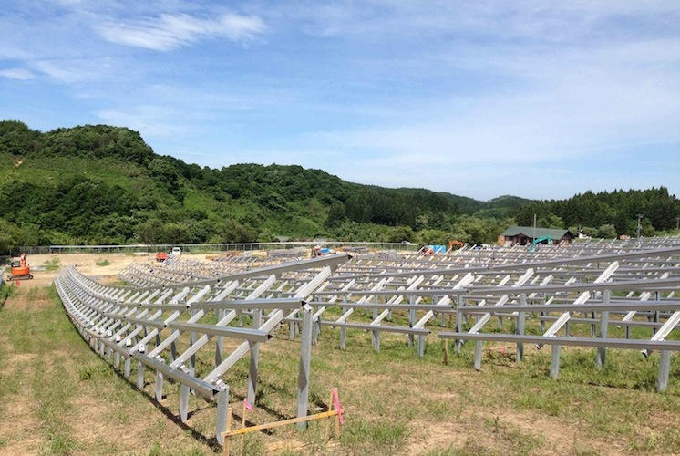 Solar Japan 1 in HEP: Neun Solarprojekte in 2014 entwickelt