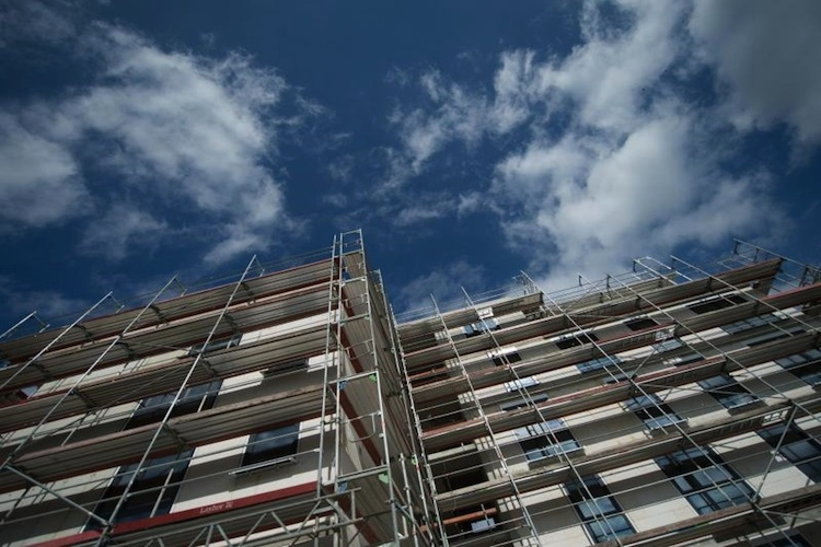 Neubau in Zahl der Baugenehmigungen steigt