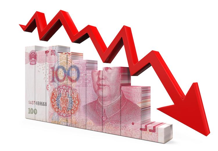 Yuan in Chinas Währung fällt auf tiefsten Stand seit fünf Jahren