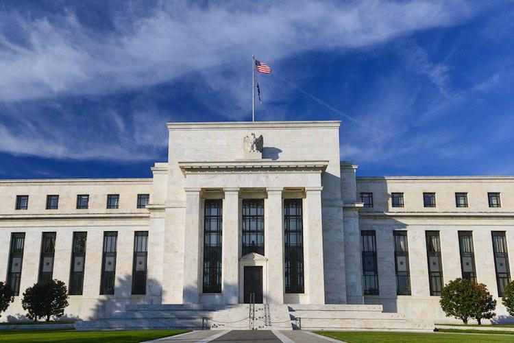 Das Gebäude der Federal Reserve in Washington, D.C.