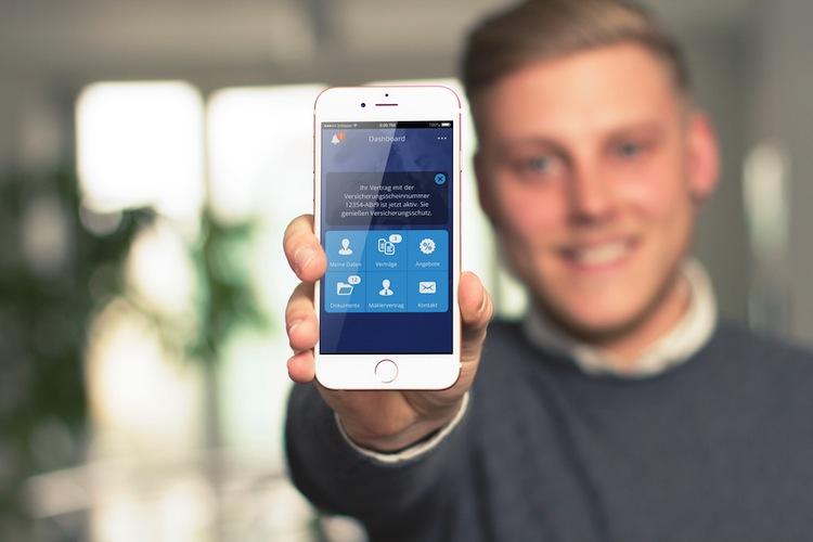 Blau direkt-App: simplr ist da