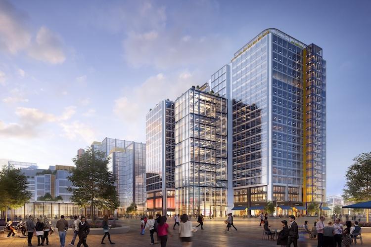 FCA-Building-at-the-International-Quarter-Stratford-Kopie2 in Deutsche Asset Management investiert in London