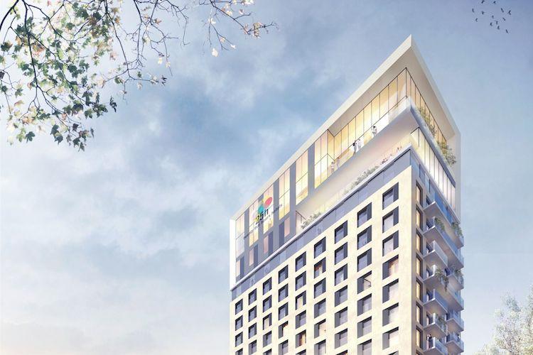 PATRIZIA Duesseldorf 25Hours Hotel Le-Quartier-Central QUELLE-HPP-Architekten-Kopie1 in Patrizia erwirbt Projektentwicklung für 25 hours Hotel
