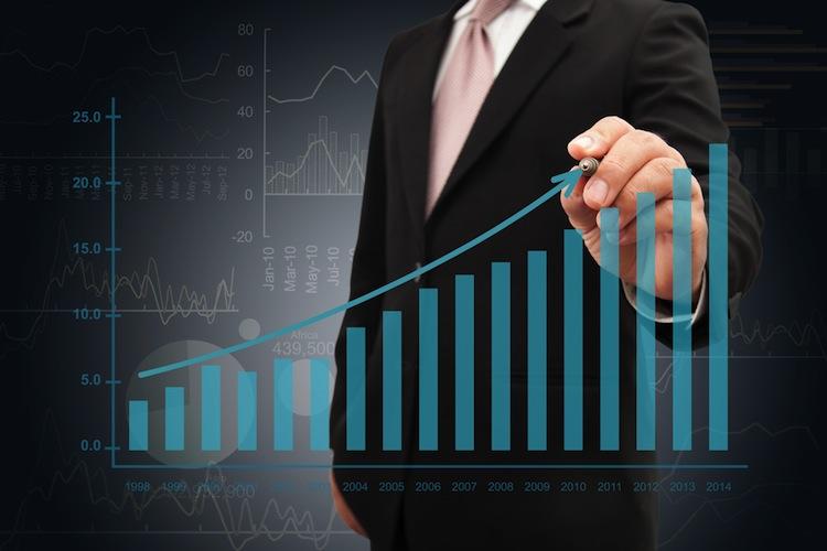 Shutterstock 275184737 in Publity meldet Gewinnsprung
