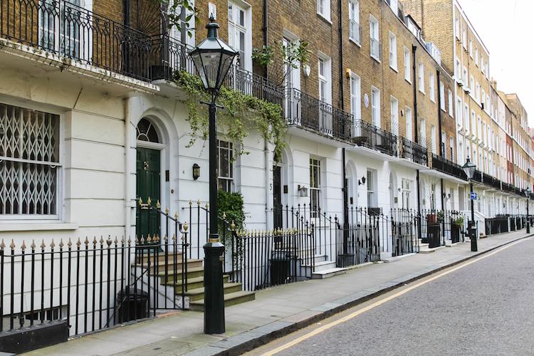 Central-London in Preise im Top-Wohnungssegment in London legen leicht zu