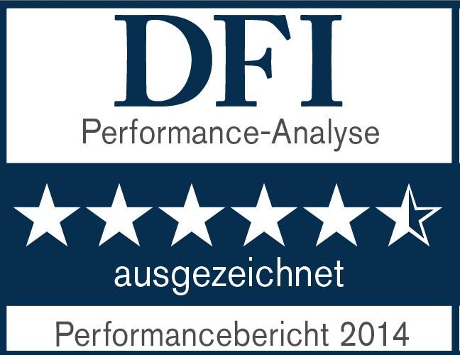 Dfi-performance in DFI Analyse: 5,5 Sterne für HKA Hanseatische KVG